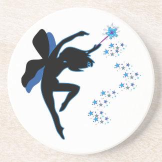 Blue & Black Fairy Coaster