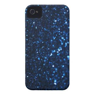 Blue Black Glimmer iPhone 4 Case-Mate Case