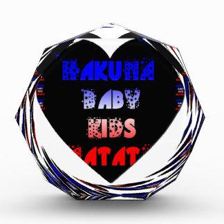 Blue Black Hakuna Matata Baby Kids Design.png Award