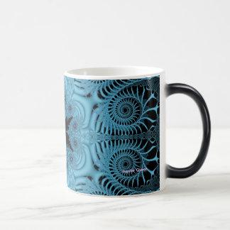Blue - Black Mug