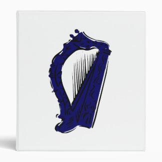 blue black ornate harp music design.png binder