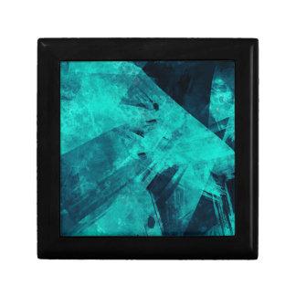 Blue-Black painting Jewelry Box