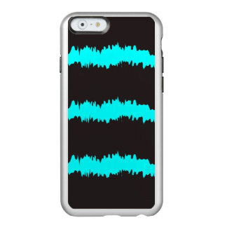 Blue & Black Ripple Claw marks Incipio Feather Shine iPhone 6 Case