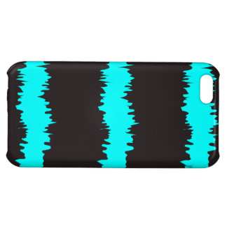 Blue & Black Ripple Claw marks iPhone 5C Cover