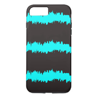 Blue & Black Ripple Claw marks iPhone 8 Plus/7 Plus Case