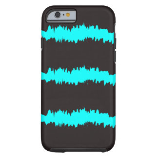 Blue & Black Ripple Claw marks Tough iPhone 6 Case