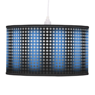 Blue/Black Silver Dot Pendant Lamp only, see notes