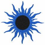Blue & Black Sun Fantasy Design