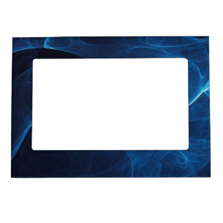 Blue Black Vape Smoke Rebel Magnetic Frame