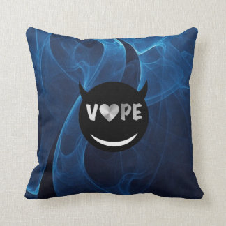 Smoke Blue Throw Pillow : Vape Pillows - Decorative & Throw Pillows Zazzle