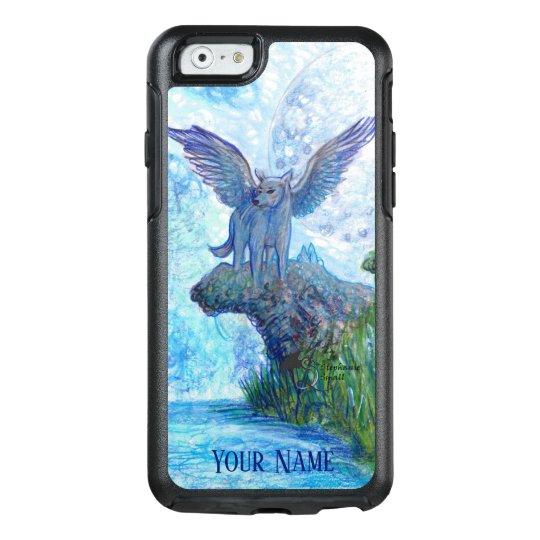 Wolf moon fantasy wild dog wolves Samsung S10 Case