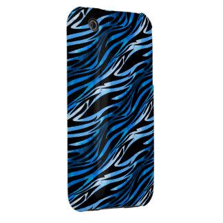 Blue & Black Zebra iPhone 3G Case iPhone 3 Cover