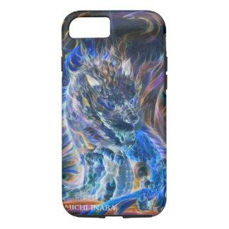 Blue Blame Dragon.青炎龍 iPhone 7 Case