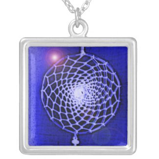'Blue Blast' zazzle_necklace