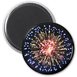 Blue Blast Two Magnet