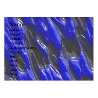 Blue blisters large business cards (Pack of 100)