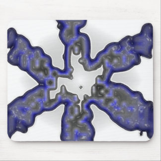 Blue Blob Mouse Mat