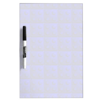 Blue blocks pattern Dry-Erase board