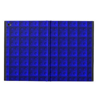 Blue blocks pattern powis iPad air 2 case