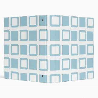 Blue Blocks School Notebook 3 Ring Binder