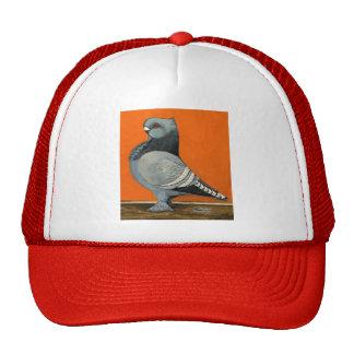 Blue Blondinette Pigeon Trucker Hat
