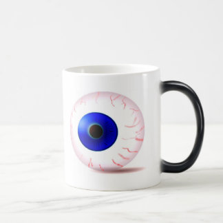 Blue Bloodshot Eyeball Magic Mug