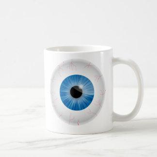 Blue Bloodshot Eyeballs Mug