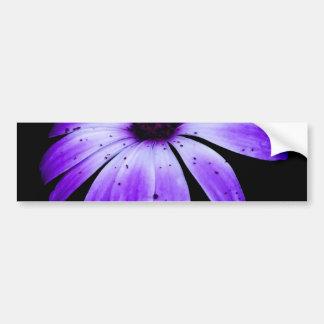 Blue Bloom Bumper Sticker