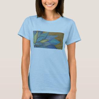 Blue Blossom Babydoll T-shirt