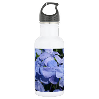 Blue Blossom Bunch Stainless Steel Water Bottle