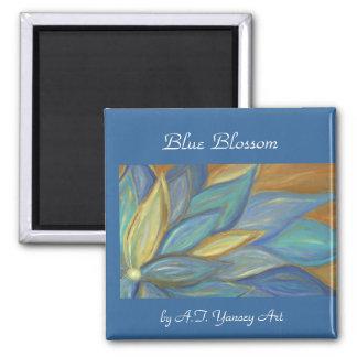 Blue Blossom Magnet