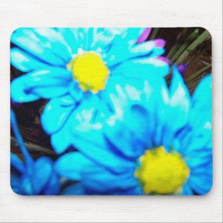 Blue Blossoms Mouse Pad