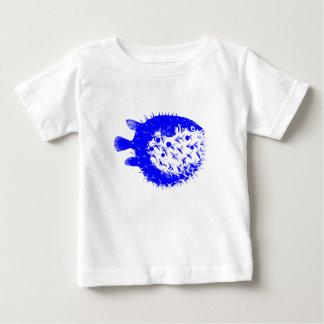 Blue BlowFish Multi-color Coral Sea Vibrant Color Baby T-Shirt