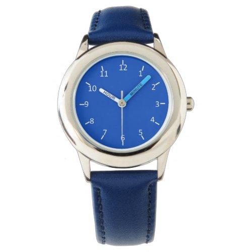 Blue Blue Blueberry Wristwatch