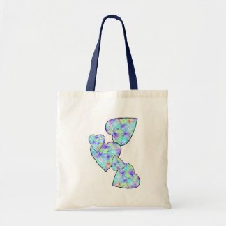 Blue, blue hearts Bag