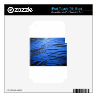 Blue Blur Decal For iPod Touch 4G