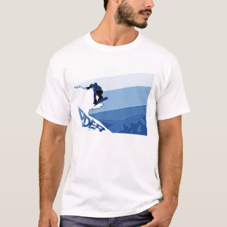 Blue Boarder T-Shirt