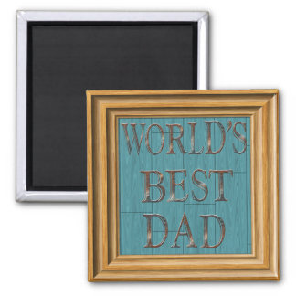 Blue Boards Father's Day Magnet