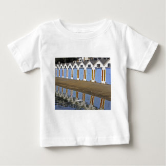 Blue Boat Houses Baby T-Shirt