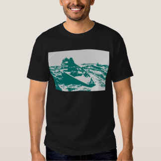 Blue Boat Winslow Homer Foghorn T-shirt