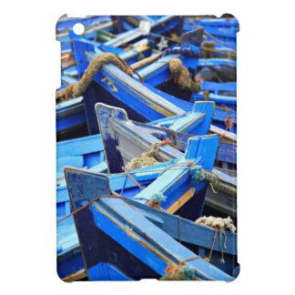 Blue Boats iPad Mini Cover