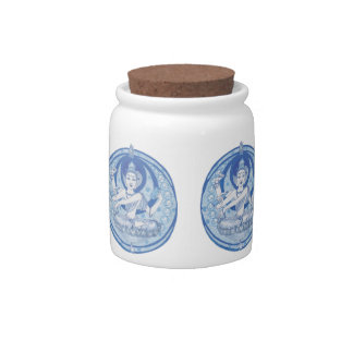 Blue Bodhisattva Brew Candy Dish