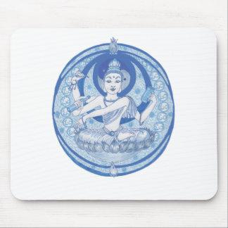 Blue Bodhisattva Brew Mouse Pad