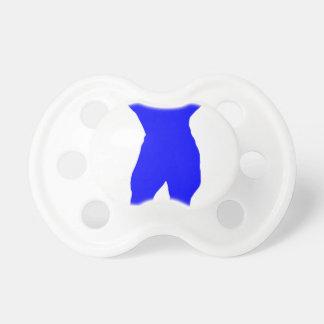 Blue Bodybuilder Pacifier