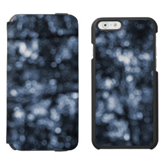 Blue Bokeh iPhone 6/6s Wallet Case