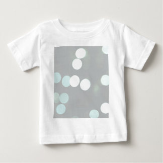 Blue Bokeh Lights Baby T-Shirt