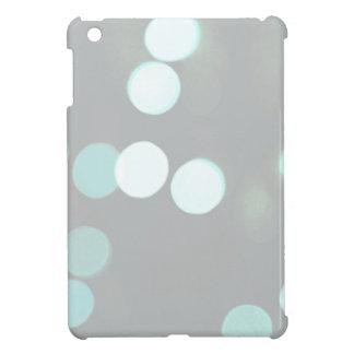 Blue Bokeh Lights iPad Mini Covers