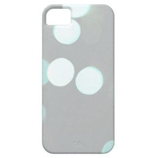 Blue Bokeh Lights iPhone SE/5/5s Case