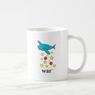 Blue Bomber Plane Coffee Mugs