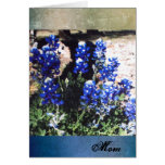 Blue Bonnet - Mother's Day Card Greeting Card